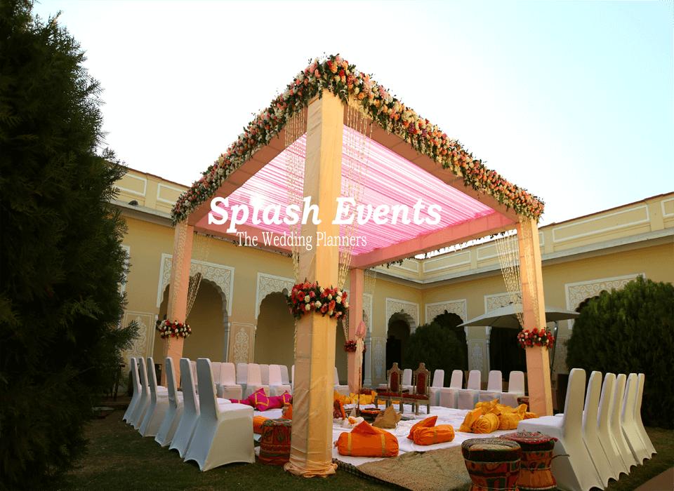 Wedding decoration in Taj SMS Convention Centre Jaipur