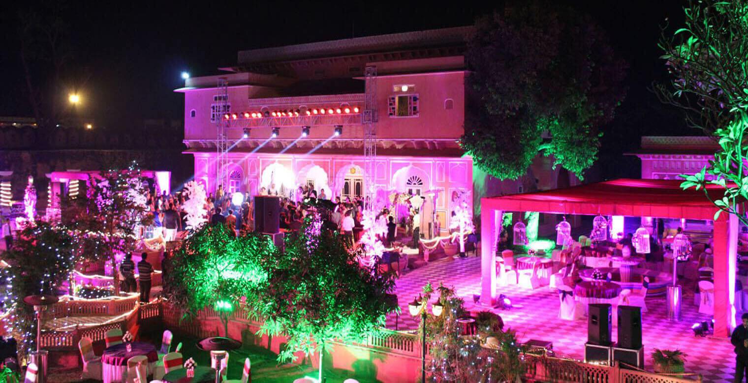 Wedding in Chomu Palace Jaipur