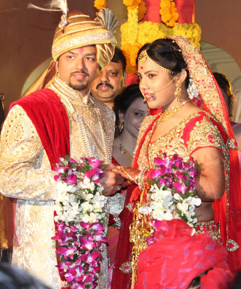Wedding in Chomu Palace Jaipur by wedding planners in jaipur