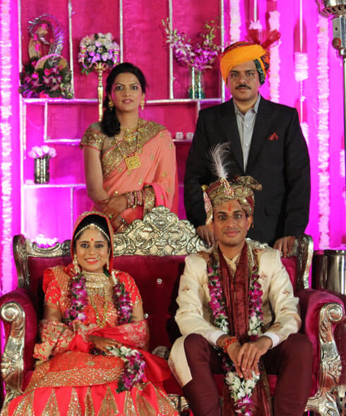 Wedding in Pink City Resort Jaipur by wedding planners in jaipur